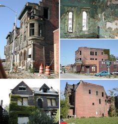 abandoned neighborhoods in the us   Abandoned Detroit neighborhoods.