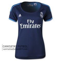 Tercera camiseta de Mujer Real Madrid 2015 2016 | camisetas de futbol baratas