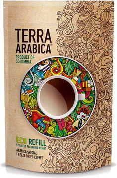Чай&Кофе ОПТ | TERRA ARABICA. Colombia 75 гр. мягкая упаковка