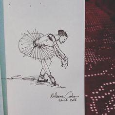 """84 curtidas, 5 comentários - Autoria: @altillierme_carlo (@desenhos_do_alti) no Instagram: """"Bailarina  #desenhosdoalti #desenhos #sketch #sketchers #sketchbook #art #artlovers #artbrazil…"""""""