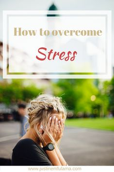 How to reduce stress: Learn to deal with anxiety #quotes #faith