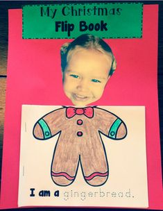 Add this adorable Christmas flip book to your Holiday unit.  There are 10 different flip book pages that include:*Angel*Caroler*Kid in pajamas*Reindeer*Chimney*Christmas tree*Elf*Gingerbread*Snowman*SANTA!You can use all of them OR choose the ones that you like the most!