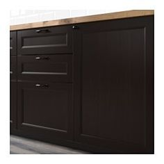 IKEA - LAXARBY, Ovi, 40x80 cm, , LAXARBY-oven viistoreunainen massiivipuukehys ja upotettu viilukeskiosa antavat sille perinteikkään luonteen. Mustanruskea tekee keittiöstä lämpimän, kodikkaan ja rustiikkisen.Massiivipuinen kehys tekee ovesta vakaan, kestävän ja pitkäikäisen.Puuviilun väri syvenee ja kaunistuu ajan myötä samalla tavalla kuin massiivipuu.25 vuoden takuu. Lisätietoja ja takuuehdot takuuvihkosessa.Oven voi asentaa oikea- tai vasenkätiseksi.
