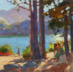 Jim McVicker Paintings: Plein Air Paintings