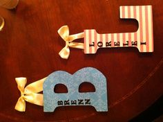 DIY letters- for my future little