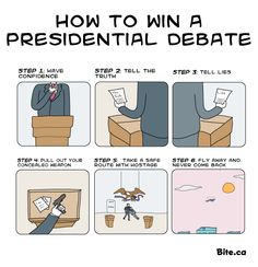 How to win a presidential debate