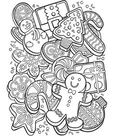 Make your world more colorful with printable coloring pages from Crayola. Our free coloring pages for adults and kids, range from Star Wars to Mickey Mouse Free Christmas Coloring Pages, Christmas Coloring Sheets, Printable Adult Coloring Pages, Coloring Book Pages, Christmas Colors, Kids Christmas, Christmas Pictures, Christmas Cookies, Illustration Noel
