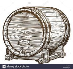 Výsledek obrázku pro old wooden barrel Cow Logo, Good Luck Horseshoe, Halloween Symbols, Holiday Icon, Vector Trees, Wooden Picture Frames, Vector Portrait, Logo Restaurant, Hand Sketch