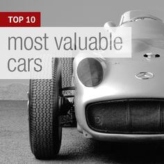 The world's most valuable cars.