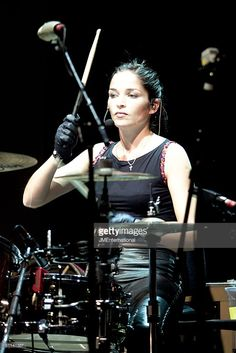 Photo of Caroline CORR and CORRS; Caroline Corr Get premium, high resolution news photos at Getty Images Girl Drummer, Female Drummer, Music Is Life, My Music, Caroline Corr, Drums Girl, Drum Solo, Women Of Rock, How To Play Drums
