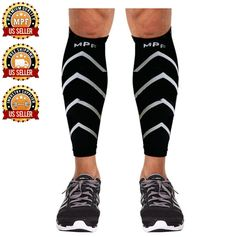 Compression Calf Sleeves Men and Women- Perfect for Workout- Compression Leg Sleeves Alleviate Shin and Calf Pain and Boost Performance Level- Breathable and Comfortable Calf Sleeves- ONE PAIR ** Special  product just for you. See it now! : Weight loss Accessories