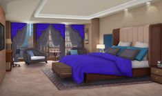 bedroom backgrounds purple int episode background interactive anime living scenery choose story stories episodelife community