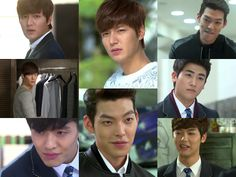 The boys of The Heirs/Inheritors  <3