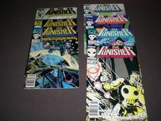 Punisher 2, 4-7, 9, 11, (1987), Marvel C04 by HeroesRealm on Etsy