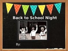 powerpoint back to school night template