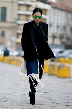 Milan Fashion Week Fall 2016 Street Style: See All the Best Outfits   StyleCaster