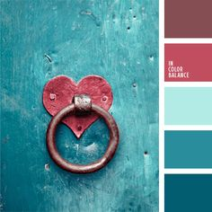 Color Palette by In Color Balance Knobs And Knockers, Door Knobs, Door Handles, I Love Heart, Color Balance, Heart Art, Color Pallets, Colour Schemes, Color Combinations