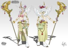 Soraka Silver Wings by VegaNya on DeviantArt