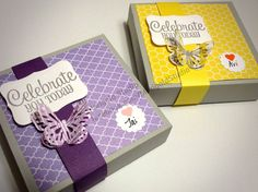 Marigold Studio Blog: Marigold Studio | Custom Stationary Boxes using En...