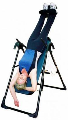 This tells about the many health benefits of inversion therapy including handstands and using inversion tables. Besides the inversion therapy, the inversion tables provide spinal traction.