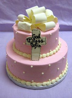 First Communion Cake.