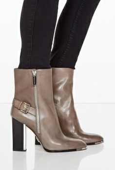 Janell Buckle Ankle Boots by Michael Kors