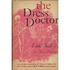 """The Dress Doctor"" by Edith Head ... #LibraryLoans"