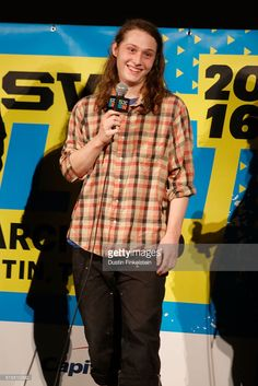 Actor Max Records speaks onstage during the premiere of 'I Am Not a Serial Killer' during the 2016 SXSW Music, Film + Interactive Festival at Alamo Lamar D on March 13, 2016 in Austin, Texas.