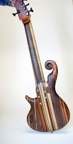Custom Electric Bass or Guitar with our unique Innovations. $4,200.00, via Etsy.