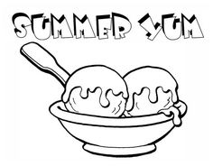 Enjoying Summer With Ice Cream Coloring Page : Coloring Sky Ice Cream Coloring Pages, Coloring Pages For Kids, Coloring Sheets, Colouring, Adult Coloring, Online Coloring, Enjoy Summer, Have Some Fun, Sky