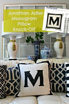 Jonathan Adler Inspired Projects {rainonatinroof.com} #jonathanadler