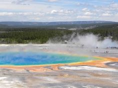 Grand Prismatic Springs, Yellowstone, WY (been there, every year for 20 years)