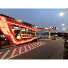 New quality orlen gas station