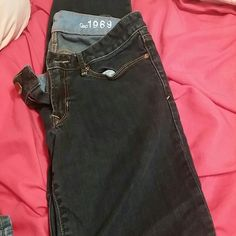 Gap jeans Juniors sexy boot cut darker color soft material GAP Jeans