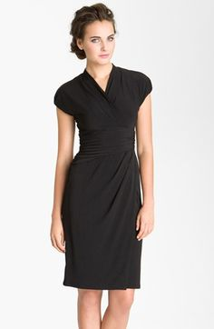 #Ivy & Blu #Dresses #Ruched #Faux #Wrap #Dress #(Regular #Petite) #True #Black Ivy & Blu Ruched Faux Wrap Dress (Regular & Petite) True Black 12 http://www.snaproduct.com/product.aspx?PID=5359317