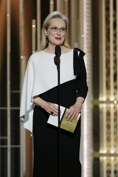 a73ef7ba2 6 Older Celebs Who Stole The Show At The Golden Globes. Ropa De Fiesta Vestidos De MujerModa Para ...