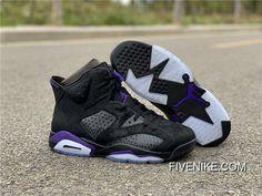 Kids Nike Air Jordan 6 Retro Low GG GS sz 6-7 Y 768878 107 White Fuschia Black