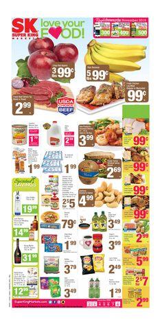 Super King Market Weekly ad November 2 - 8, 2016 - http://www.olcatalog.com/grocery/super-king-market-weekly-ad-flyer.html