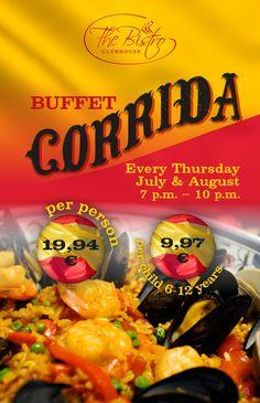 Buffet Corrida every Thursday www.blacksearama.com