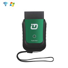 Vpecker 16PIN OBDII Wifi EasyDiag Diagnostic Tool Transform Your Tablet or PC Into Professional-Grade Automotive Diagnostic Tool (Support Windows System, Green)