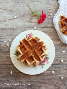 Authentic Belgian waffles are so much different than America's version of Belgian Waffles. Learn the difference and taste traditional, authentic Belgian waffles with their heavenly bits of caramelized Belgian pearl sugar!