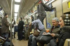 10 People spotted on the subway - http://www.weirdlife.com/10-people-spotted-on-the-subway/