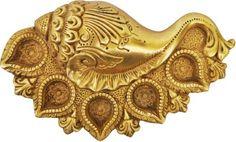 Aakrati Conch Shape Brass Table Diya Price in India - Buy Aakrati Conch Shape Brass Table Diya online at Flipkart.com