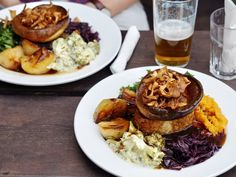 Best Veggie Roast in London, The Kenton
