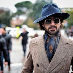 Men's hat inspiration #3 | MenStyle1- Men's Style Blog