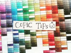 This answers questions I get on copic markers everyday! More tips at #minmonsta_info >How many copics do you own, how many should I buy? I have about 200+ and don't intend to buy anymore. For a beginner, always try them out first before buying. Personally I find a sufficient number is about 30-35 colors >Sketch/ciao/original??!? You can find the basic information about them on the official copic website. Sketch/ciao is more widely used. In short, sketch = more colors, professional choice…