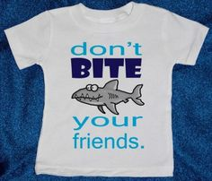 hahah... Noah needs this shirt! :)