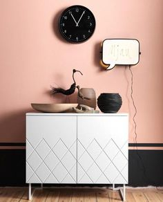 Best 20 Pretty Powder Pink Interior Design Ideas in Interior design is one of crucial components of our lovely homes for all of us, and when it comes to powder pink interiors, everyone accept that they . Murs Roses, Interior Inspiration, Design Inspiration, Design Ideas, Painting Inspiration, Bold And The Beautiful, Pink Walls, Black Walls, Home And Deco