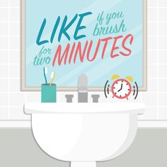 It's Dental Hygiene Month! LIKE THIS POST if you brushed for two minutes today!