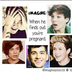 One direction imagine- he finds out you're pregnant harry st One Direction Images, One Direction Wallpaper, One Direction Humor, I Love One Direction, 1d Preferences, One Direction Preferences, 1d Imagines, Harry Styles Imagines, Imagines Crush